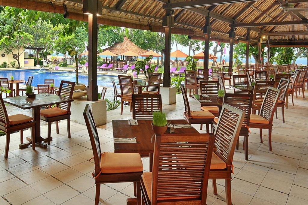 sanur hotel,mercure resort,mercure resort sanur,mercure sanur restaurant,pandawa restaurant