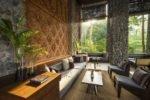 ubud hotel,alila hotel and spa,alila ubud restaurant, restaurant cabana lounge