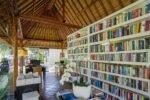 sanur hotel,segara village hotel,segara village library,hotel library