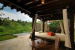 natura, natura resort,natura villa resort, natura villa resort ubud,natura day bed pool villa one bedroom