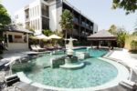 seminyak beach resort, seminyak resort, the seminyak bali, garden wing pool, the seminyak garden wing pool, swimming pool, the seminyak bali swimming pool