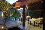 seminyak villa, bali villa, amala villa, amala villa seminyak, amala villa dining area, seminyak restaurant, bali restaurant