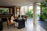 seminyak villa, bali villa, amala villa, amala villa seminyak, amala villa reception desk