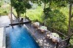 kayumanis ubud, kayumanis villa,kayumanis villa and spa, dining corner kayumanis ubud