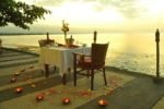 bali hotel. lovina hotel, nugraha lovina seaview resort, nugraha lovina resort romantic dinner