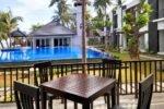 padmasari resort lovina, bali hotel, lovina hotel, padmasari resort lovina terrace area