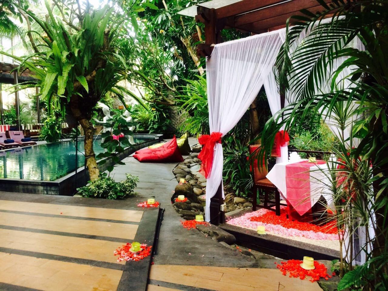 The Bali Dream Villa And Resort Echo Beach Canggu Menu