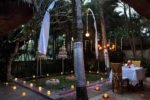 ubud village resort, ubud village resort and spa,the ubud village resort romantic dinner