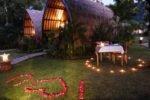kinaara resort pemuteran, bali hotel, pemuteran hotel, kinaara resort pemuteran bali, kinaara resort pemuteran romantic dinner, romantic dinner