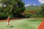 matahari beach resort bali, bali hotel, pemuteran hotel, tennis court, matahari beach resort tennis court