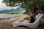 taman sari bali resort, bali hotel, pemuteran hotel, taman sari bali beach area