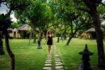 taman sari bali resort, bali hotel, pemuteran hotel, taman sari bali lush garden