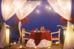 taman sari bali resort, bali hotel, pemuteran hotel, taman sari bali romantic dinner