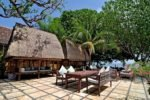 taman selini bungalows, pemuteran bungalow, bali bungalow, bali hotel, pemuteran hotel, taman selini outdoor dining area