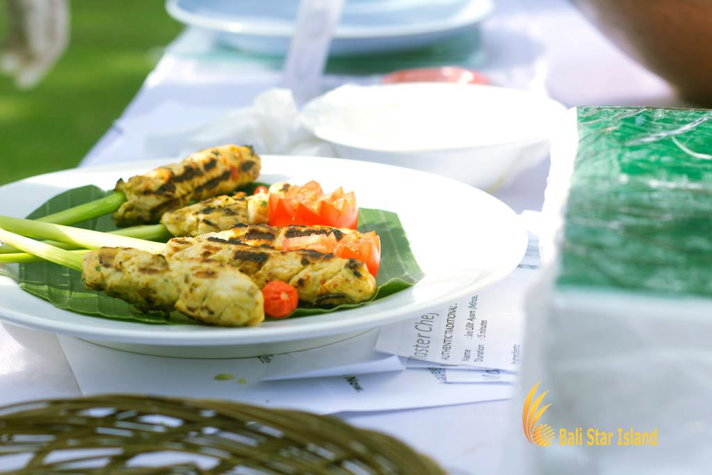 sate lilit, sate making, bali cooking, balinese cooking, bali cooking class, balinese cooking lessons