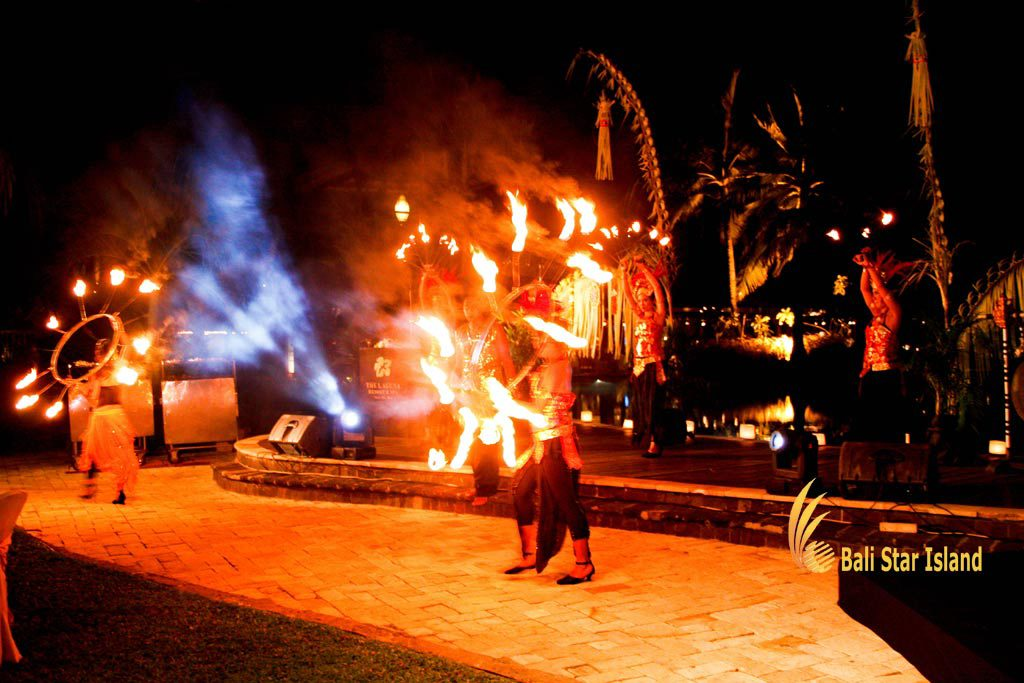 fire dance, gala dinner, fire dance gala dinner, bali party, bali party planners