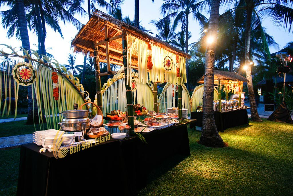 food stall, food stall gala dinner, gala dinner, bali party, bali party planners