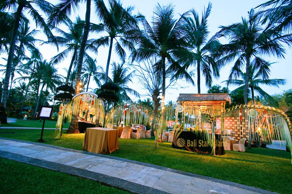 balinese setup gala dinner, gala dinner, bali party, bali party planners