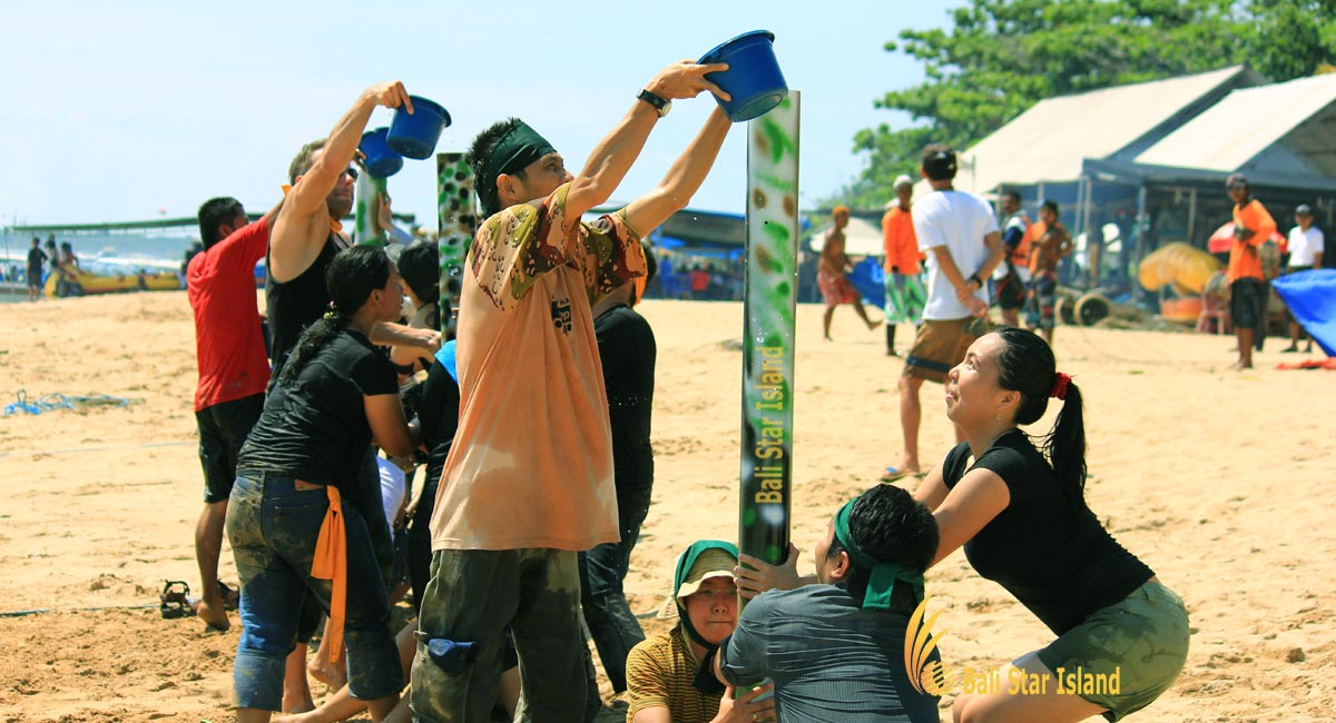 Bali Beach Team Building