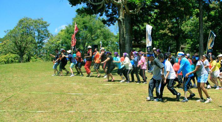 Bali Garden Team Building