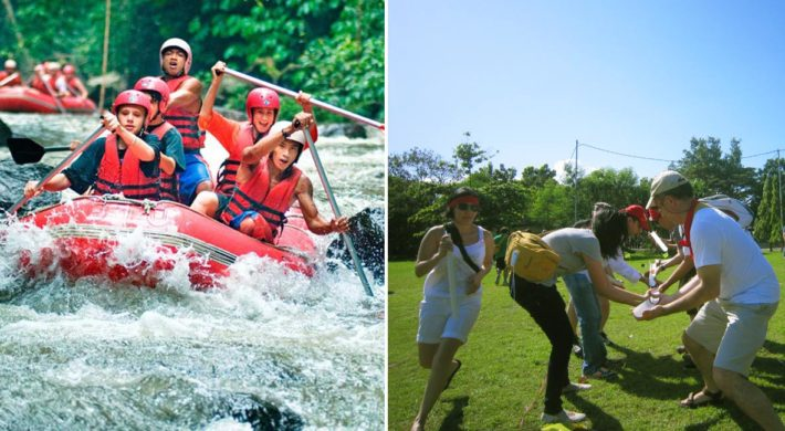 Garden Team Building Rafting Package