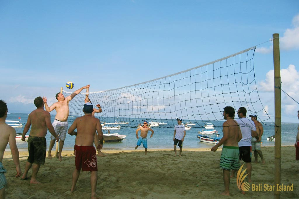beach volley ball, bali incentive, bali incentive full leisure, incentive full leisure