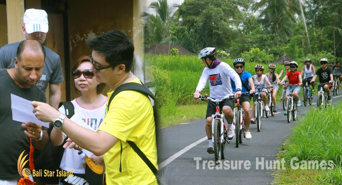Bali Team Building Treasure Hunt Games