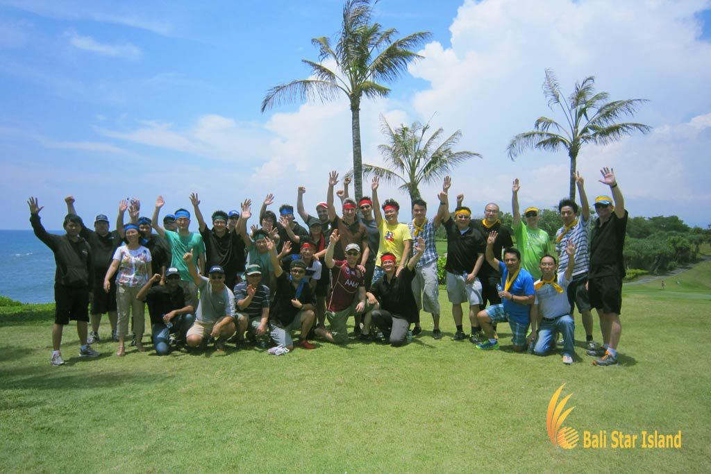 bali treasure hunt, group team building