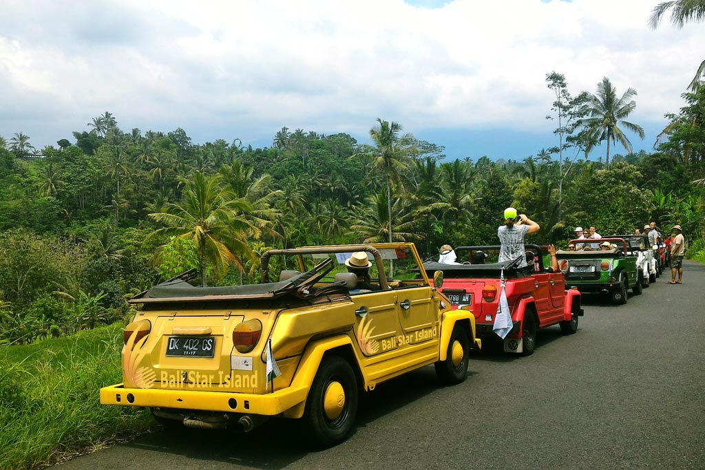 Rice Paddy Exploration, vw safari treasure hunt, bali vw safari treasure hunt