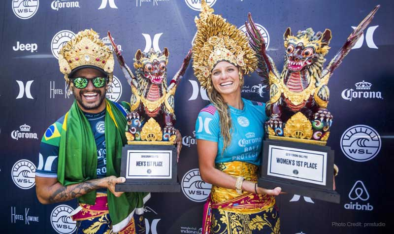 world surf league, wsl bali, wsl bali pro, winner, champion