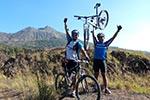 batur caldera cycling