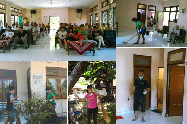csr activity, csr, nursing house, csr nursing house, lovina