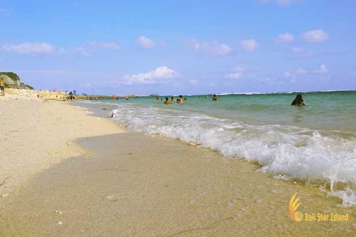 white sand, melasti, melasti beach