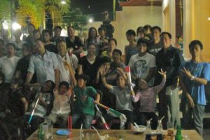 new year eve party, bali star island staff