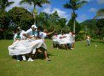 Egypt Sarong Game – Bedugul Team Building Bali Star Island Anniversary