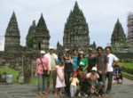 Front Side Prambanan Temple – Bali Star Island Staff
