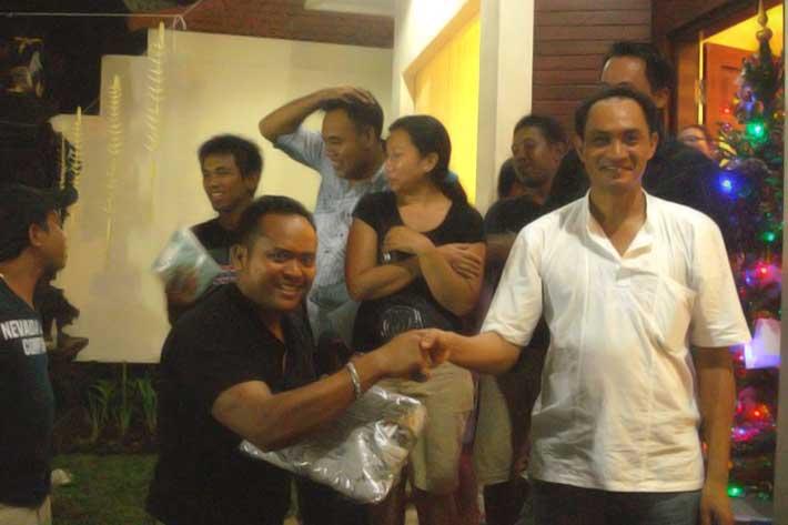 appreciation new year eve party bali star island award, appreciation night