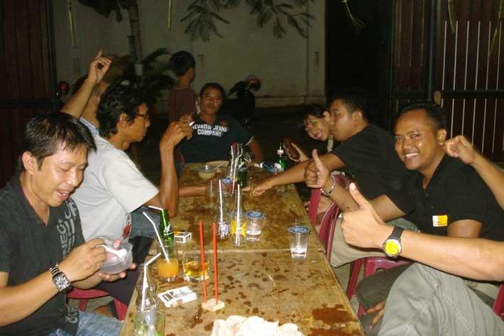 bali star island staff dinner, staff dinner, appreciation night party 2010