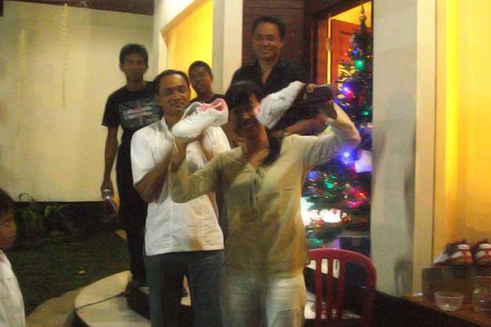 appreciation new year eve party door prize, bali star island staff party, appreciation night