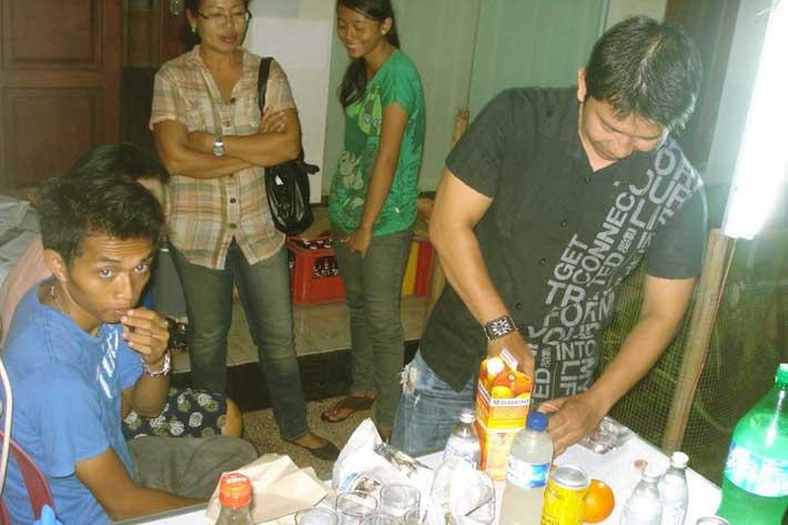 staff party, bali star island staff, appreciation night