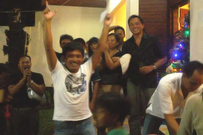 staff party 2010, bali star island, appreciation night