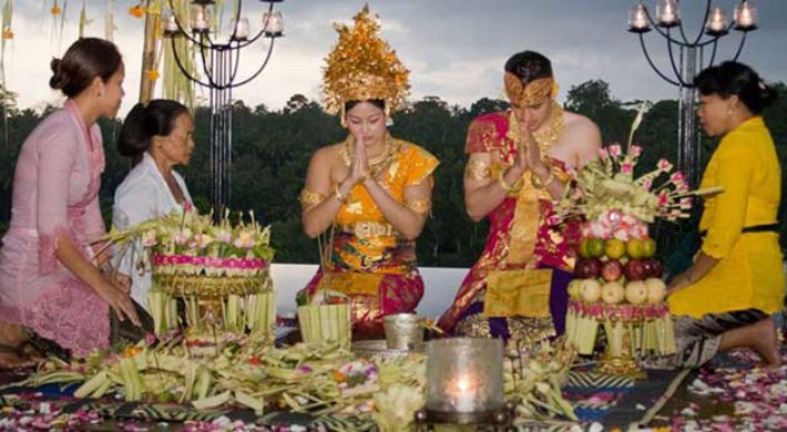 Bali Blessing Wedding Ceremony