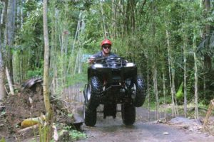 stand up, bali atv riding
