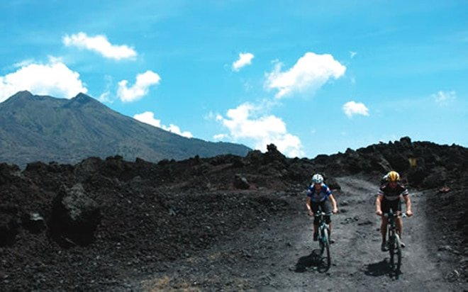 lakeside batur cycling tour