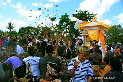 Ngaben Ceremony Cremation on Bali