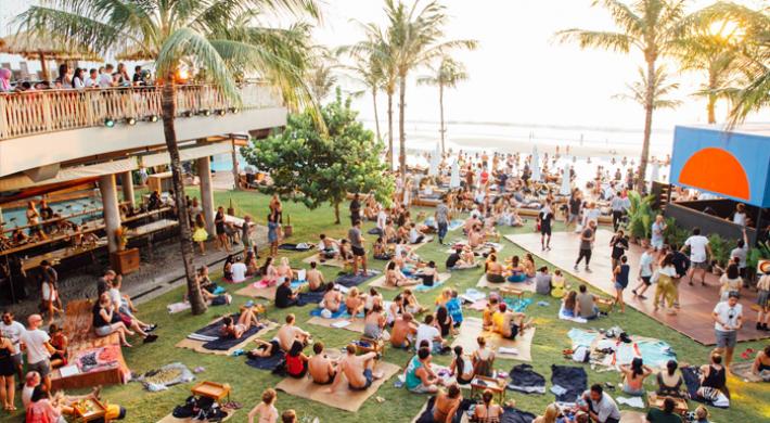 Bali Beach Club Entertainment