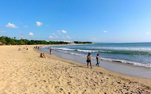 kuta beach bali, beautiful beach