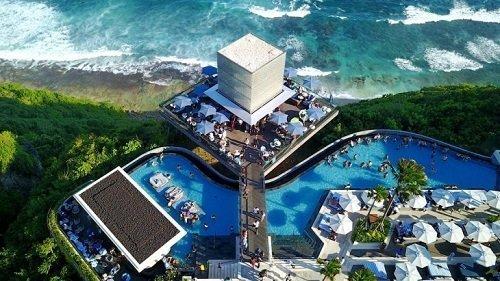 omnia bali, edge beach club, tourist entertainment