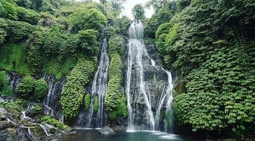 banyumala waterfall, bali