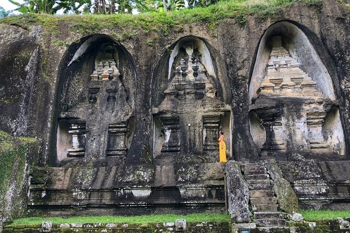 gunung kawi temple, instagrammable places, tourist attractions